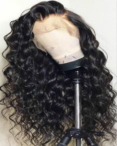 Long Curly Wigs For African American Women The Same As The Hairstyle In The Picture - Wigs For Black Women - Lace Front Wigs, Human Hair Wigs, African American Wigs, Short Wigs, Bob Wigs Curly Hair Styles, Natural Hair Styles, Natural Looking Wigs, Black Wig, Long Wigs, Short Wigs, Wig Hairstyles, Black Hairstyles, Hairstyles 2016
