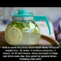 Healthy water.