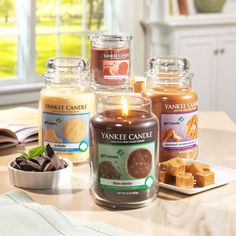 Yankee Candle Company is selling Girl Scout Cookie Candles. Apparently they smell just like the real thing which I can only imagine will result in picking