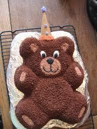 Teddy Bear Birthday Cake Heavenly Sweetzations Portfolio - Bear birthday cake
