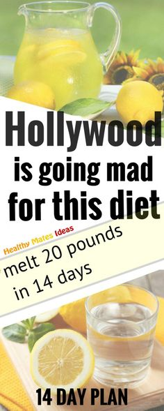 HOLLYWOOD IS GOING MAD FOR THIS DIET THAT MELT 20 POUNDS IN 14 DAYS