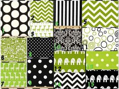 Custom Crib Bedding  2 piece Set Black by DandelionBabyblanket, $238.00