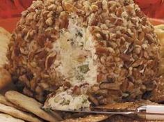 Pineapple Pecan Cheese Ball ~ Just A Pinch