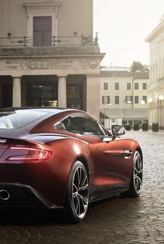 Aston Martin Vanquish: The Brits know style.
