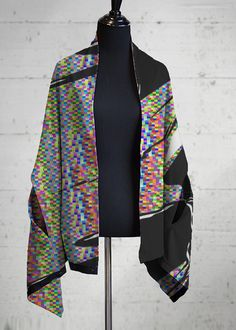Multi-Wear Wrap: Fashion and function meet in our infinitely-customizable Multi-wear Wrap. This versatile piece easily transforms from a wrap to a scarf to a top depending on th - All athleisure Vida Design, Pink Flamingos, Green And Orange, Design Trends, How To Look Better, Personal Style, Kimono Top, Fashion Outfits, My Style