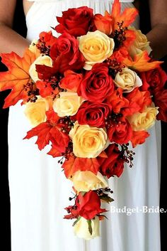 Gorgeous Cascading Wedding Bouquets Wedding planning ideas inspiration Wedding dresses decor and lots Cascading Wedding Bouquets, Bridal Bouquet Fall, Blush Wedding Flowers, Fall Bouquets, Fall Wedding Bouquets, Fall Wedding Colors, Bride Bouquets, Flower Bouquet Wedding, Wedding Dresses