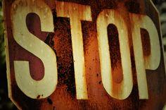 vintage road signs