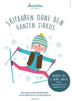 Skilift´le Millrütte Anzeigen | Design: zurgams Skilift, Movies, Movie Posters, Design, Ski, Communication, Studying, Kids, Films