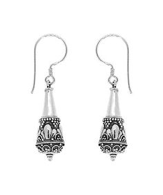Another great find on #zulily! Sterling Silver Filigree Drop Earrings #zulilyfinds