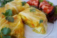 Ethiopian Stuffed Cabbage