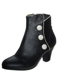 ELSIE - Boots - black/cream