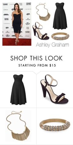 """""""Sports Illustrated Style Crush: Ashley Graham"""" by simplybe ❤ liked on Polyvore featuring Lipsy"""