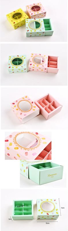 Aliexpress.com : Buy Quality window macaron macaroon 6pcs packaging chocolate square fashion cookies West packaging carton box wholesale 10pcs/lot from Reliable chocolate antioxidants suppliers on Fancy's Store *. | Alibaba Group