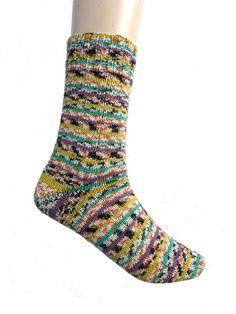 Katoenen sokken Meilenweit Solo Cotone maat 37 door Carolinevantveer