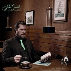 """John Grant - Black Belt, from the new album """"Pale Green Ghosts. Ernest Borgnine, Pochette Album, Album Of The Year, Sound & Vision, Best Albums, Lps, To Youtube, Black Belt, New Music"""