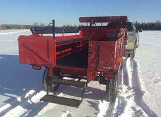 $11,995  Horsedrawn wagon also has sleigh runners.