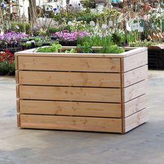 Hochbeet heimisches Holz Douglasie, Breite 50 cm in Garten & Terrasse, Gartenbauten & Sonnenschutz, Gewächshäuser & Zubehör | eBay