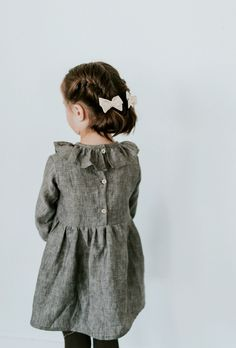 Linen Tilly Dress |