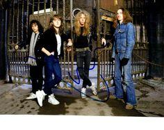 Lars Ulrich Autographed Metallica Drummer Signed 8x10 Photo UACC