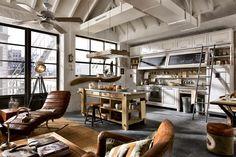 [Deco] Cocinas Vintage actualizadas | Decorar tu casa es facilisimo.com