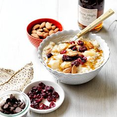 Put in a few minutes of prep the night before and you'll be set with oatmeal for the week. Get the recipe from Delish.   - Delish.com