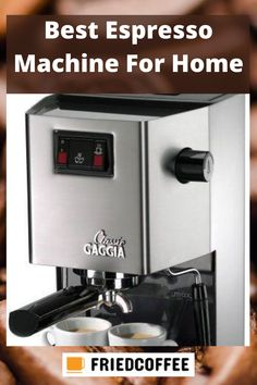 A Perfect Home Espresso Machine can bloom your lifestyle by brewing consistent shots every time and extracting all the essential oils and flavors from coffee grounds. The task of an espresso machine is to produce a highly concentrated, dark and rich textured drink. To get the idea about best espresso machine, click the pin and go to our website. #FriedCoffee #EspressoMachine #CoffeeMaker #Coffee #Espresso #Healthy #Benefits #CoffeeBasic #CoffeeFacts #Cappuccino #Coffeeguide