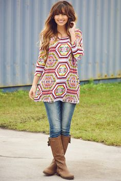 Give It Your All Top: Multi #shophopes