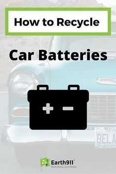 Have an old car battery in your garage. Click here to find a location near you to recycle it. Click here to search for a recycling location in your area. #OldBatteriesPictures