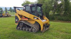 2003 Caterpillar 257 Compact Track Skid Loader Diesel Engine Construction CAT