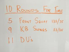 Keep it under 15 minutes for a real intense workout. It's good stuff I tell ya! Enjoy.  From the Garage.