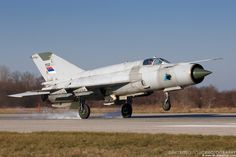 """Serbian Air Force Mikoyan-Gurevich MiG-21bis """"Fishbed-L"""""""