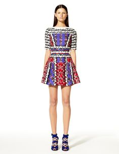 Peter Pilotto's Resort 2013 Collection Offers Kaleidoscopic Prints #fashion, #kaleidoscope
