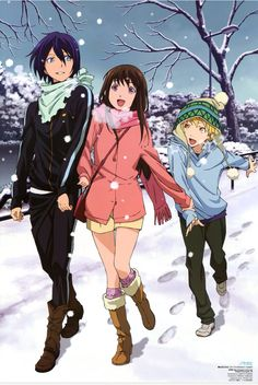 Noragami official pic