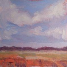 Heidi Malott Original Paintings: Landscape Oil Painting Original Impressionism Heid...