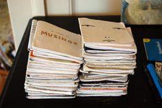 I make my own sketchbooks — Marc Johns