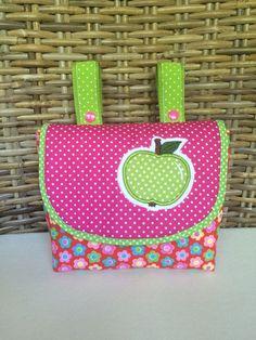 Lenkertaschen - Lenkertasche *Apfel* - ein Designerstück von Creative-Happiness bei DaWanda