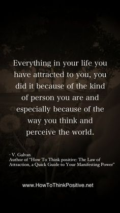 Everything in your life you have attracted to you through the law of attraction  #quotes #loa #inspiration #motivation