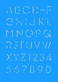 dot dot dash clever Morse code typography