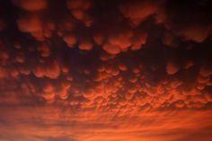 Storm clouds gather over Gorzow Wielkopolski, Poland. (Lech Musynski/EPA)