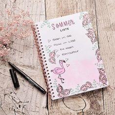 Bullet Journal, Monat, Instagram, Blog, Paper, Summer Diy, Blogging