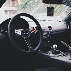 NC Miata MX5 interior / Nardi wheel Jonas B. / CarbonMiata  | #TopMiata #mazda #miata #mx5 #eunos #roadster