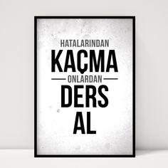 Hatalarından Kaçma. Doovar'dan Türkçe Posterler!
