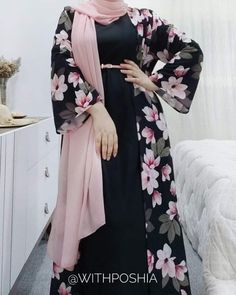 Modest Fashion Hijab, Modern Hijab Fashion, Muslim Women Fashion, Islamic Fashion, Fashion Dresses, Mode Abaya, Hijab Fashionista, Outfit Look, Stylish Dress Designs