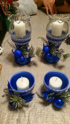 Clay pot candles
