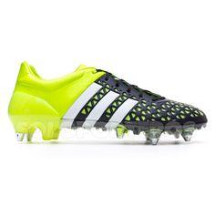 pretty nice b306e 8bfde Bota de fútbol adidas Ace 15.1 SG Solar yellow-White-Core black Botines De