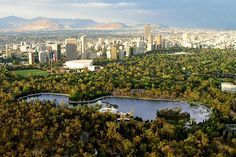 The World's Greatest Urban Parks: Chapultepec Park, Mexico City, Mexico | At 2,000 acres Chapultepec Park befits North America's largest city, Mexico City, as among the region's largest urban parks. The park is more than trees and grassy knolls, housing a theme park, a zoo, and two lakes. History lovers will be pleased to find over a dozen museums, restaurants, and hotels in Chapultepec Park.