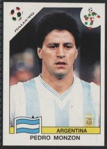Pedro Monzón - Argentina Uefa Football, Football Soccer, Player Card, Football Stickers, Fifa World Cup, Baseball Cards, Historical Photos, Picture Cards, Sports