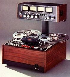 Ampex, Studer, Scully, Teac/Tascam and… Recording Equipment, Audio Equipment, School Equipment, Audio Music, Hifi Audio, Cassette Vhs, Vinyl Record Collection, Magnetic Tape, Audio Design