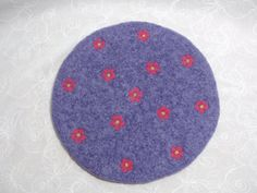 Hand Crafted Wool Trivet/HotpadFelted TrivetFelt by Susietoos, $32.00