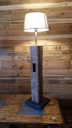 Old Wood, Upcycle, Diy And Crafts, Lights, Interior Design, Home Decor, Artists, Projects, Diy Lamps